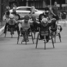RUN EVENT - WHEELCHAIR RACE